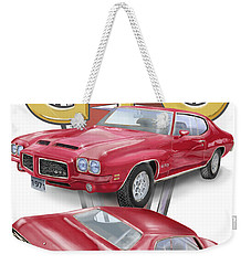 1971 Pontiac Gto Weekender Tote Bag