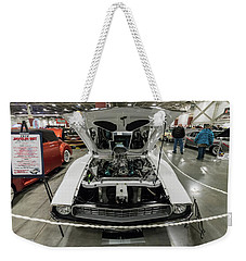 Weekender Tote Bag featuring the photograph 1972 Javelin Sst 2 by Randy Scherkenbach