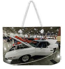 Weekender Tote Bag featuring the photograph 1972 Javelin Sst by Randy Scherkenbach