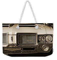 1972 Olds 442 - Sepia Weekender Tote Bag