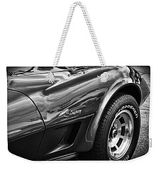 1973 Chevrolet Corvette Stingray Weekender Tote Bag