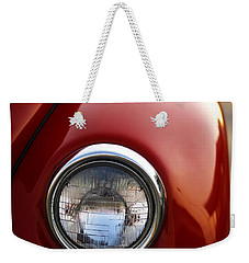 Weekender Tote Bag featuring the photograph 1973 Volkswagen Beetle by Gordon Dean II