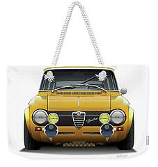 1974 Alfa Romeo Giulia Weekender Tote Bag
