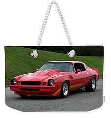 Weekender Tote Bag featuring the photograph 1974 Camaro Z28 by Tim McCullough