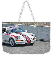 1974 Porsche 911 Weekender Tote Bag by Mike Martin