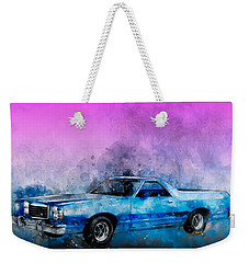 1979 Ranchero Watercolour Of The Last Sport Pickup Truck Weekender Tote Bag