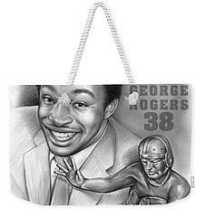 1980 Heisman Winner Weekender Tote Bag by Greg Joens