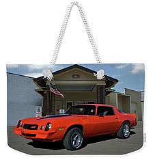1981 Camaro Z28 Weekender Tote Bag
