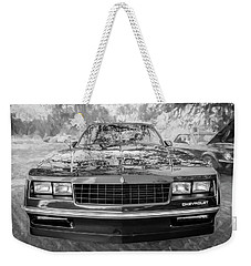 1987 Chevrolet Monte Carlo Ss Coupe Bw C122  Weekender Tote Bag