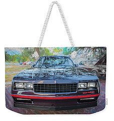 1987 Chevrolet Monte Carlo Ss Coupe C120 Weekender Tote Bag