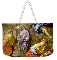 Weekender Tote Bag featuring the painting 19th Century English School  by Artistic Panda