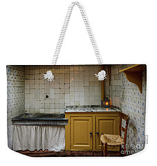 Weekender Tote Bag featuring the photograph 19th Century Kitchen In Amsterdam by RicardMN Photography