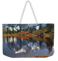 1m4208 Mt. Shuksan And Picture Lake Weekender Tote Bag