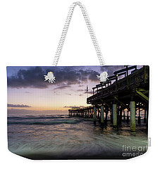 1st Dawn Cocoa Pier Weekender Tote Bag by Jennifer White