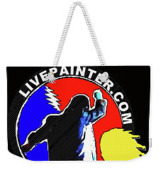 1st Live Painter Logo Weekender Tote Bag