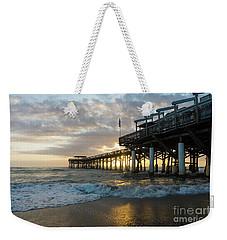 1st Sunrise 2017 Cocoa Beach Weekender Tote Bag