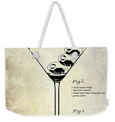 1897 Dirty Martini Patent Weekender Tote Bag