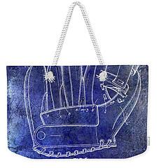 1943 Baseball Glove Patent Weekender Tote Bag