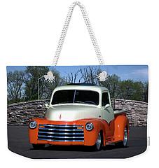 1952 Chevrolet Pickup Truck Weekender Tote Bag