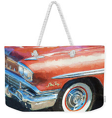 1958 Pontiac Star Chief  Weekender Tote Bag