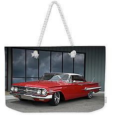 1960 Chevrolet Impala Weekender Tote Bag