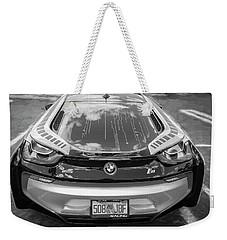 2015 Bmw I8 Hybrid Sports Car Bw Weekender Tote Bag by Rich Franco