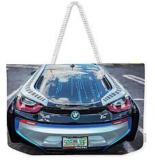 2015 Bmw I8 Hybrid Sports Car Weekender Tote Bag by Rich Franco
