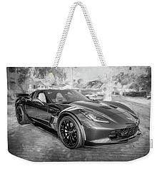 2017 Chevrolet Corvette Gran Sport Bw Weekender Tote Bag by Rich Franco
