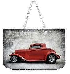 Weekender Tote Bag featuring the photograph 3 Window Coupe by Keith Hawley