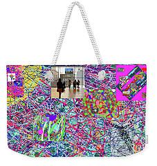 2-4-2057h Weekender Tote Bag