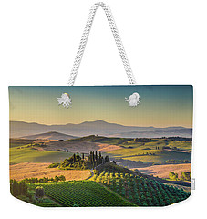 A Golden Morning In Tuscany Weekender Tote Bag