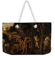 A Hunting Scene Weekender Tote Bag