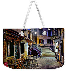 An Evening In Venice Weekender Tote Bag