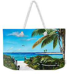 Access To The Beach Weekender Tote Bag
