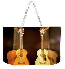 Acoustic Overtone Weekender Tote Bag