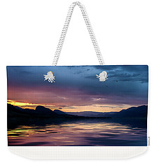 Weekender Tote Bag featuring the photograph Across The Clouds I See My Shadow Fly by John Poon