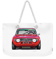 Alfa Romeo Gtv Illustration Weekender Tote Bag