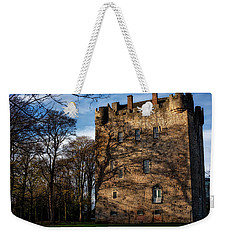 Weekender Tote Bag featuring the photograph Alloa Tower by Jeremy Lavender Photography