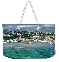 Ambergris Caye Aerial View Weekender Tote Bag