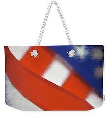 American Flag Weekender Tote Bag by George Robinson
