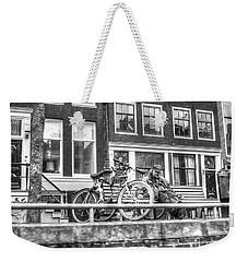 Amsterdam Street Weekender Tote Bag by Yury Bashkin