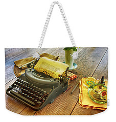 An Author's Tools Weekender Tote Bag by Lynn Palmer