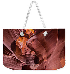 Antelope Canyon Weekender Tote Bag by JR Photography