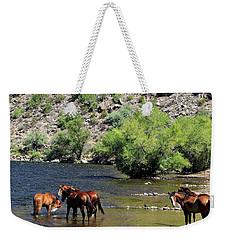 Arizona Wild Horses Weekender Tote Bag
