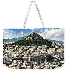 Athens Panorama Weekender Tote Bag