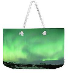 Aurora Borealis Or Northern Lights. Weekender Tote Bag