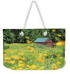 Barn Stony Brook New York Weekender Tote Bag by Bob Savage