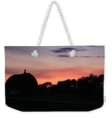 Barn Sunset Weekender Tote Bag