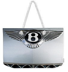 Bentley Emblem Weekender Tote Bag