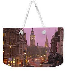 Big Ben London England Weekender Tote Bag by Panoramic Images